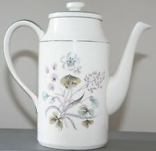LOVELY 1960'S MIDWINTER MAYFIELD COFFEE POT DESIGNED BY MARQUIS OF QUEENSBERRY