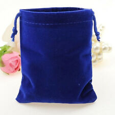 10Pcs New Velvet Bags Favor Wedding Pouches Jewelry Packaging Gift Bags 7cm*5cm
