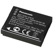 LUMIX 1250mAh Lithium-Ion Rechargeable Battery for Panasonic Cameras DMWBCM13