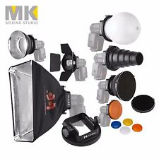 SGA-K9 Speedlight Flash Accessories K9 Kit For Canon Nikon Yongnuo Godox Flash