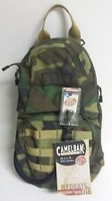 CamelBak MULE 3L Hydration Pack Woodland Camo Backpack Hydrolink Components