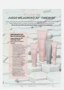 Mary Kay FULL SIZE TimeWise 3D Miracle Set for combination to oily