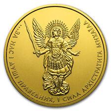 2018 Ukraine 1 oz Gold Archangel Michael BU - SKU#153640