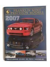 Franklin Mint Precision Diecast Models 2007 Catalog