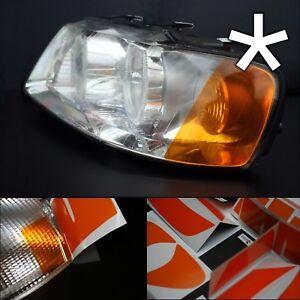 US - Design - Folie für Scheinwerfer Blinker Audi A3 8L rechts/links