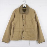 Vintage TIMBERLAND Weathergear Beige Canvas Jacket Size Mens Medium /R43082