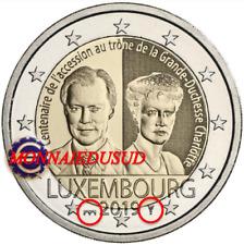 2 Euro Commémorative Luxembourg 2019 BU Duchesse Charlotte Pont de Selve