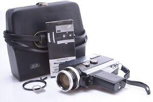 ✅ ZEISS VOIGTLANDER MOVIFLEX SUPER S8 8MM CAMERA ZEISS 9-36MM VARIO SONNAR LENS