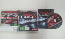 Grid 2 Sony Playstation 3 PS3 With Manual