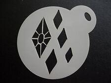 Taglio laser piccoli Cutie Mark Diamanti Design Cookie, CRAFT & Face Painting Stencil