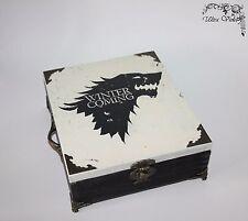 Teebox,Tee,Tea box,Teebeutel ,Teekiste,Game of Thrones,Stark, Winter is coming