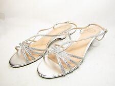 26a803bd28fa I. Miller Felipa Womens Wedge Sandals Silver Size 11M