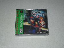 Chrono Cross Greatest Hits PlayStation Sealed Unopened