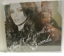 CD. 3 words by Cheryl Cole feat Will.I.Am. Signed on the insert by Will.I.Am.