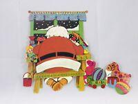 Vintage Santa Clause Christmas Diecut