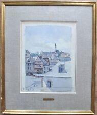 AQUARELLE IMPRESSIONISTE / JEAN REMOND 1872 / 1913 / BRETAGNE