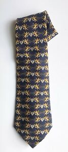 """Chanel Tie, Angel Motif on a Blue Ground, 3-3/4"""" Width, Exc Cond"""