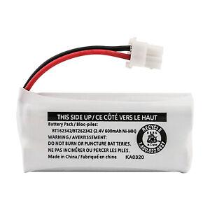 Kastar Battery for Vtech BT162342 BT262342 CS6114 CS6419 CS6719 EL52300 CL80111