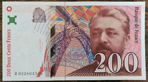 Billet de 200 francs Gustave EIFFEL 1996 FRANCE R022804566