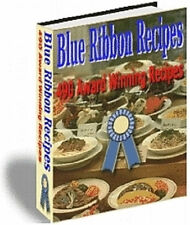 490 Blue Ribbon Recipes eBook on CD Rom