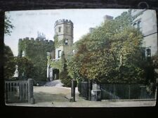 POSTCARD WARWICKSHIRE RUGBY - HEAD MASTERS HOUSE 1900'S