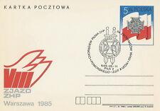 Poland postmark PILA - scouting sword
