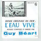 """Guy BEART Vinyle 45T EP 7"""" L'EAU VIVE Film + 2éme partie - PHILIPS 432 314 RARE"""