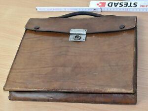 kultige alte Aktentasche aus Leder