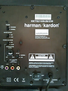 Reparatur Elektronik HKTS210SUB/230 Harman Kardon Subwoofer keine Funktion