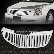 FOR 06-11 CADILLAC DTS CHROME POLISHED VERTICAL FRONT UPPER GRILLE/GRILL GUARD