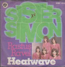 "7"" Heatwave Sister Simon (Funny Man) / Rastus Ravel 70`s Phonogram Penny"
