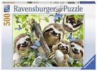Ravensburger Jigsaw Puzzle SLOTH SELFIE Fun Smiling Animals 500 Pieces