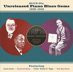 Blue 88s: Unreleased Piano - Various Artist (2017, CD NEUF)