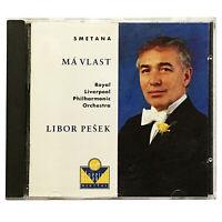 Smetana - Ma Vlast - Libor Peseka - RLPO - MINT 1990 CD - Virgin - VC 7 91100-2