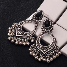 Gold/Silver Plated Charm Tassel Drop Dangle Earrings Jhumka Women Jewelry Gift