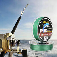 Stronger Knot Strength 300m 500m 8/20/50LB Dyneema PE Braided SEA Fishing Line