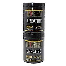 Universal Nutrition Creatine Powder Dietary Supplement 2 pack 400g