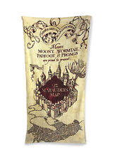 Marauders Map Harry Potter Towel