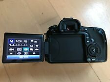 Canon EOS 60D 18MP Digital SLR Camera - Black (Body Only) Used - Good condition.