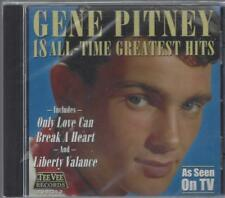 GENE PITNEY 18 ALL-TIME GREATEST Town Without Pity It Hurts To Be In Love NEW CD