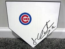JOSE QUINTANA Chicago Cubs SIGNED Autographed Home Plate Base Plaque w/ COA