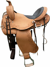 """TN Saddlery Sharp Tail Gaited Western Saddle 15"""" 16"""" 17"""" 18"""""""