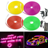 LED Lighting LED Neon Light Flexible Sign DC12V Waterproof Led Strip lights Lamp