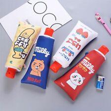 Toothpaste Girls Boy Pen School Supplies Pencil Bag Pencil Sharpener Pen Cases