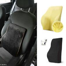 Comfortable Car Memory Foam Back Cushion Lumbar Support Pillow Waist Support New