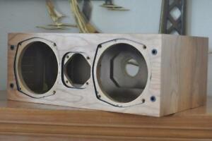 Avalon Acoustics NP Series Cherry Wood Speaker Cabinet (empty) NOS NIB