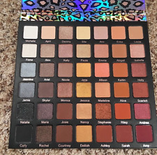 NEW Violet Voss Ride or Die Eyeshadow Palette 42 Colors Cosmetic Makeup Limited