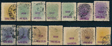 BRAZIL, NICE CLASSIC LOT OF 14 DIFF. USED VALUES STAMPS, SEE..  #A231