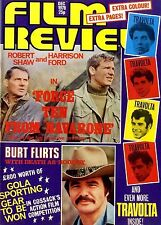 FILM REVIEW MAGAZINE 1978 DEC ROBERT SHAW & HARRISON FORD, LAURA MARS