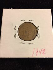 1942 wheat penny 1 Cent Collectible Coin US Currency 💴